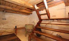 "Finnish parvisauna, ""loft sauna"" (?)at Villa Randala Naantali Finland. Wish to have one some day."