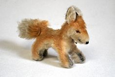 Steiff Vintage Mohair Fox named Xorry