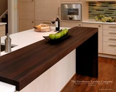 Superieur Contemporary Wenge Dark Wood Countertop By Grothouse   Contemporary   Kitchen  Countertops   Baltimore   The Grothouse Lumber Company