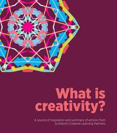 An inspiring look at creative learning Scottish style!