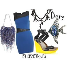 Dory - Cute Disney themed outfit.