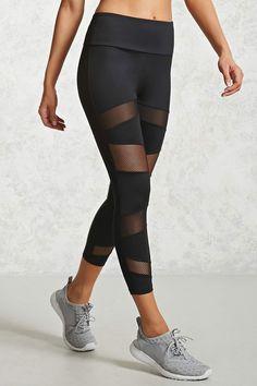 Product Name:Active Mesh Capri Leggings, Category:Activewear, Price:19.9