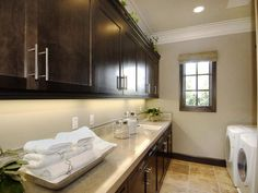 Elegant Laundry Room : PDI : Closets And Utility : Pro Galleries : HGTV Remodels