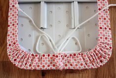 tutorial for ironing board cover. I totally need a new one. I love this design!