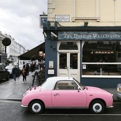 I need this Vintage Nissan Figaro in my life ✨