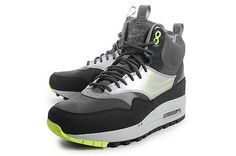 NIKE WOMENS AIR MAX 1 MID SNEAKERBOOT WP WATERPROOF