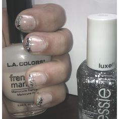 Sparkle French mani!