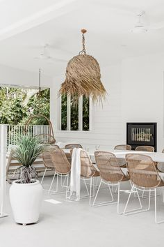 Outdoor Areas, Outdoor Rooms, Outdoor Dining, Outdoor Furniture Sets, Patio Dining, Dining Set, Fresco, Dream Beach Houses, Hanging Rail