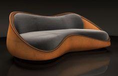 56 Beautiful DIY Sofa Design Ideas - Home-dsgn Deco Furniture, Funky Furniture, Sofa Furniture, Unique Furniture, Sofa Chair, Furniture Design, Victorian Furniture, Furniture Online, Furniture Stores