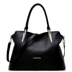 Old head leather handbag shoulder bag diagonal female bag killer in Europe  and America fashionable large e6c966c9585eb