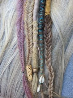 inch clip in dreadlock wrap synthetic hair Might be cool to try and find someone who does these at the festival. Would look mad with the space buns.Might be cool to try and find someone who does these at the festival. Would look mad with the space buns. Dreadlock Hairstyles, Boho Hairstyles, Black Hairstyles, Wedding Hairstyles, Yarn Braids, Braids Easy, Fishtail Braids, Box Braids, Viking Hair