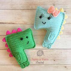 Terrifying T-Rex Free Crochet Pattern