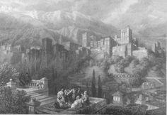 la Alhambra vista desde el Albaicín. (Robert)