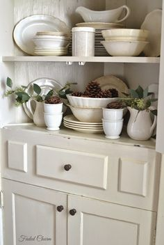 Faded  Charm: ~Decorating with Pinecones~