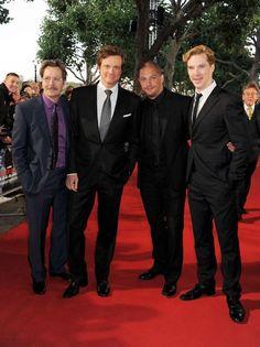 Gary Oldman, Colin Firth, Tom Hardy & Benedict Cumberbatch. Amazing Brits.