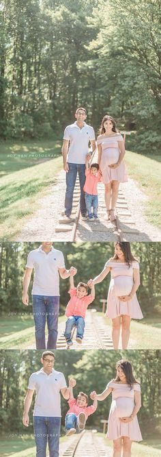 Maternity photography posing ideas with toddler   family of three posing   family photography   baby bump photography   natural light photography   northern va photography   joy han photography   www.joyhanphotography.com