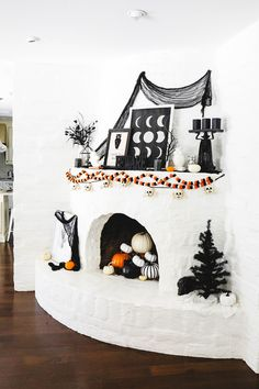 #ProperAtHome  The Halloween Decor We Used Around The House