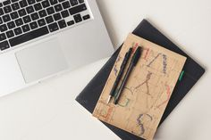Check out MacBook top view by Seronda Estudio on Creative Market