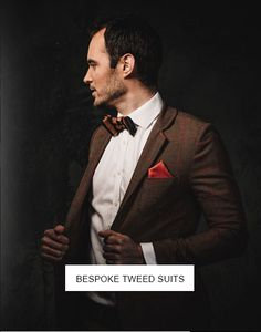 tweed wedding suit