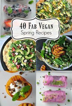 40 Fab Vegan Spring Recipes