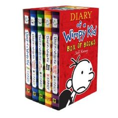 Diary of a Wimpy Kid . . . these make me laugh!!