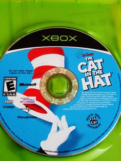 VIDEO GAME XBOX CAT IN THE HAT rare!