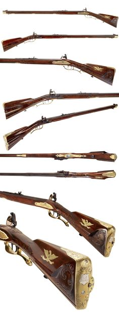 "G. Rogers ""Heavy Bullet"" Flintlock Rifle"