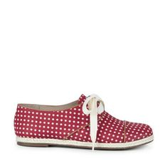 74db21d9fcf9 RYANNE lace up espadrille Red Shoes