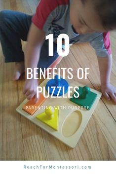 I've got 10 great reasons to introduce and encourage puzzles for your child (and to do puzzles yourself! ).
