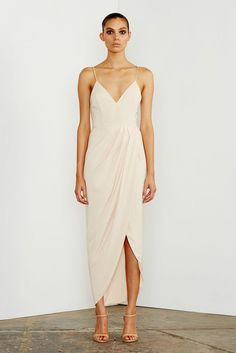 CORE COCKTAIL DRESS - NUDE – Shona Joy (bridesmaids)