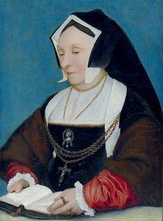 Hans Holbein dJ -  Lady Alice More, née Middleton