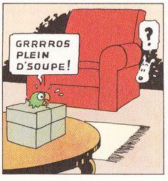 Chez Tintin - L'oreille cassée - Tintin - Hergé