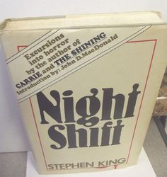 #StephenKing Night Shift Hardcover Book 1978 #Doubleday Book #Club Edition