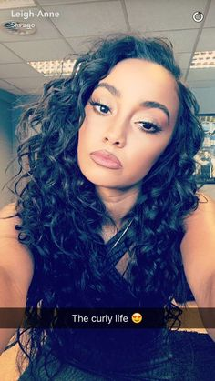 Little Mix Leigh Ann, Little Mix Outfits, Curly Hair Styles, Natural Hair Styles, Playboy Logo, Long Hair Waves, Wavy Hair Extensions, Hair Weft, Remy Hair