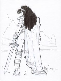 Ihrie by Rodolphe Guenoden Comic Art