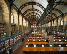 Bibliotheque Sainte-Genevieve, Paris - in my list of places to visit  (: