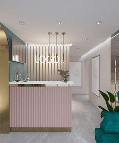 Nail Salon Design, Nail Salon Decor, Beauty Room Decor, Beauty Salon Decor, Spa Interior Design, Studio Interior, Cabinet Medical, Spa Rooms, Nail Room
