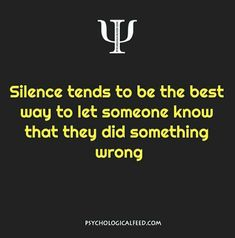 Yes but most are fully aware they did you wrong though they may try to justify their actions.