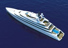 100 Meters Of Luxury And Style: The new Acuore Superyacht