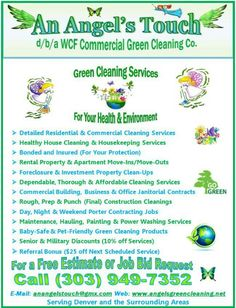 An Angel's Touch, LLC, d/b/a WCF Commercial Green Cleaning Co. - Detailed Cleaning Services in Denver, Colorado