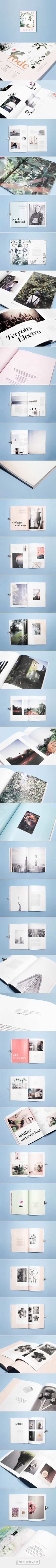 l'ode magazine - diptyque on Behance - created via http://pinthemall.net