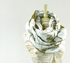 RealTree Snow Camo Infinity Scarf Camouflage by ForgottenCotton, $26.00 real tree fashion accessory winter chunky