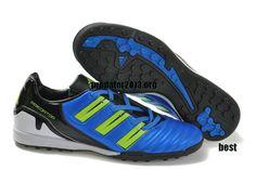 59c043197a6e Adidas Predator XI TF Soccer Cleats For Beckham Blue Black Green Beckham  Soccer Shoes  52.66 Beckham