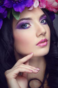 portfolio for the make-up artist Most Beautiful Faces, Beautiful Girl Image, Beautiful Lips, Gorgeous Makeup, Beauty Makeup, Hair Beauty, Foto Art, Beauty Shots, Pretty Eyes