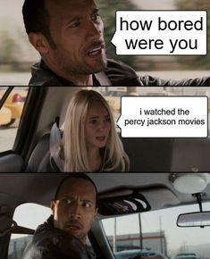 Percy Jackson Memes, Percy Jackson Fandom, Disney Memes, Crush Memes, Funny Relatable Memes, Funny Jokes, Nerd Funny, Funny Facts, Memes Humor