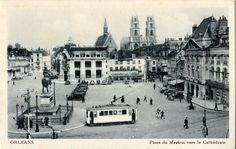 ORLEANS - Loiret - Place du Martroi -1930