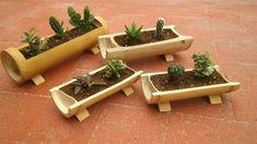Amazing Garden Jacuzzi Ideas Ideas Rustic Garden Ideas Diy and Gravel Garden Ideas Purple. Bamboo Planter, Bamboo Art, Bamboo Crafts, Log Planter, Pallet Planters, Planter Boxes, Garden Planters, Herb Garden, Garden Jacuzzi Ideas