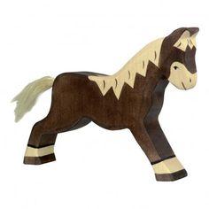 Holztiger Figurine en bois cheval-listing