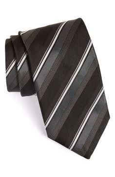 Canali+Stripe+Silk+Tie+available+at+#Nordstrom