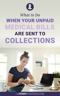 Millions of Americans have medical debt. Here's how to take action against it and what happens if you don't pay medical bills. Single Mom Help, Budget Help, Medical Billing, Financial Success, Medical Information, Feeling Sick, Budgeting Finances, Frugal Tips, Money Matters